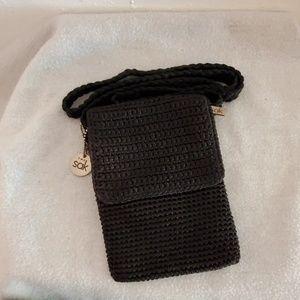 The Sak black mini crossbody bag